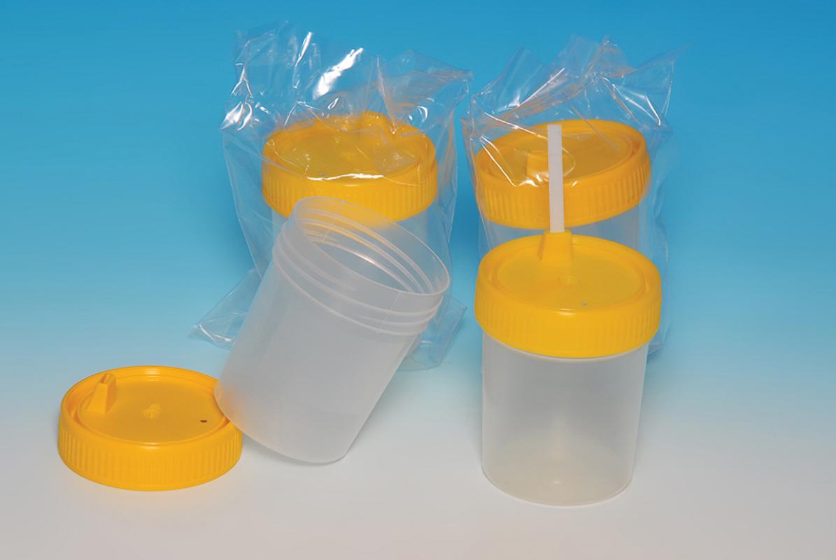 Posuda za urin sa izlivom V=100 ml