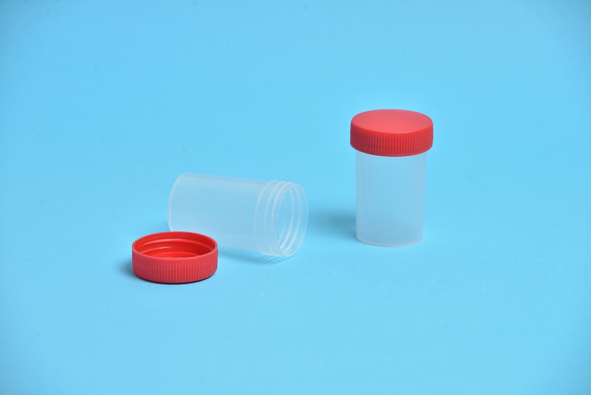 Posuda za urin sa navojnim zatvaračem V=60 ml - PP